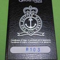 Graham booklet papers warranty silverstone model newoldstock