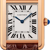 Cartier Tank Solo W5200024 Pink Gold 18ct NEW