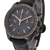 Omega Speedmaster Moonwatch Co Axial Chronograph in Black...