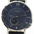 N.O.A Noa Slim Watch 18.60 Mslq-003 Blue Dial 40mm  W/ Box...