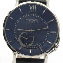 N.O.A Noa Slim Watch 18.60 Mslq-003 Blue Dial 40mm  W/ Box...