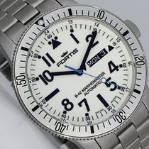 Fortis B-42 Marine Master Day/Date WITHE