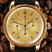 """Omega 38 mm Oversize """"Jumbo""""-Chronograph in Rotgold"""