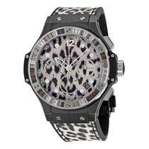 Hublot [NEW] Big Bang Chronograph Leopard Dial 341.CW.7717.NR....
