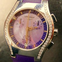 Longines OPOSITION Brillanten 0,46Kt Extravaganter Damen...