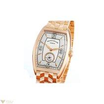 Franck Muller Cintree Curvex Havana 18K Rose Gold Men`s Watch