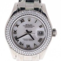 Rolex Pearlmaster Swiss-automatic Womens Watch 80339
