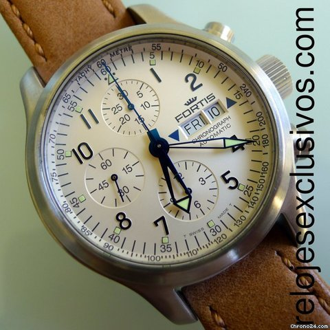 Fortis B-42 Flieger Day-Date Chrono