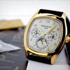 Patek Philippe Perpetual Calendar 18K Yellow Gold Cushion Case