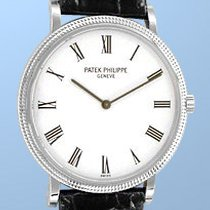 Patek Philippe Gent's 18K White Gold  Ultra Thin #3520-D...