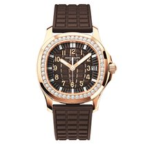 Patek Philippe [NEW] Aquanaut Luce Rose Gold Diamond Ladies 5068R