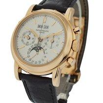 Patek Philippe 3970r Perpetual Calendar Chronograph in Rose Gold