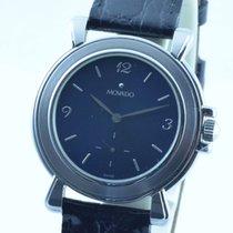 Movado Museum Watch Uhr Rar Stahl/stahl Top 36mm Handaufzug Neu