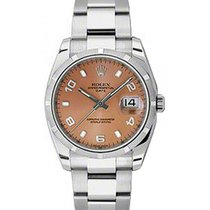 Rolex Oyster Perpetual Date 34 115210-PNKAFO Pink Arabic /...