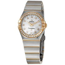 Omega Constellation Diamond 18K Rose Gold/Steel