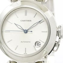 Cartier Pasha C Steel Automatic Unisex Watch W31010m7 (bf106322)