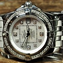 Breitling Cockpit Lady with Factory Diamonds box Papers