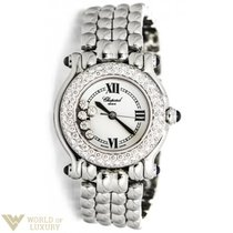 "Chopard : ""Happy Sport"" Stainless, Gold, and Diamond..."