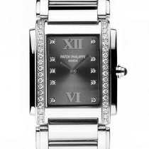 Patek Philippe Twenty-Four Stahl Diamond Quarz Armband Stahl...