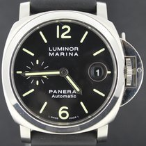 Panerai Luminor Marina Steel, Rubber Strap MINT Condition