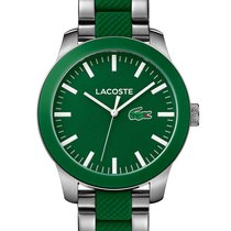 Lacoste 12.12 Mens Watch - Stainless Steel Case - Green Dial -...