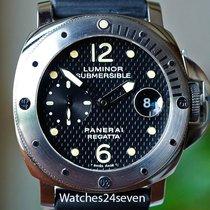 Panerai PAM 199 Luminor Submersible Laureus Regatta LTD Weave...