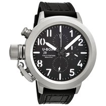 U-Boat Classico 50 Black Dial Chronograph Men's Automatic...