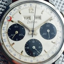 Zodiac Heuer-Zodiac Carrera 12 Dato Panda dial Dato-Compax