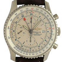 Breitling Navitimer World Stahl Automatik Chronograph 46mm