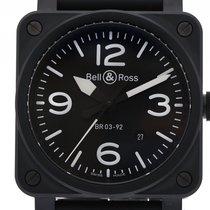 Bell & Ross Aviation BR 03-92 Black Matte Keramik Automati...