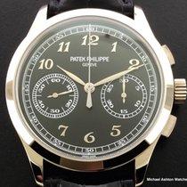 Patek Philippe Ref# 5170 White Gold, Black Dial, Chronograph