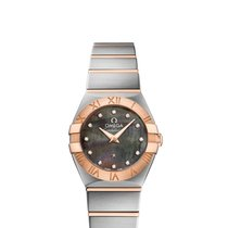 Omega 12320246057005 Constellation 24mm Quarzt Ladies Watch