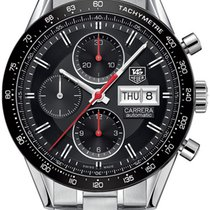 TAG Heuer Carrera Day Date Automatic Chronograph 41mm cv201ah....