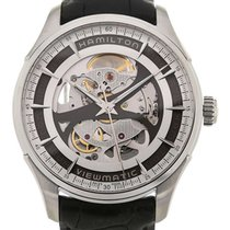 Hamilton American Classic Jazzmaster Viewmatic 40 Leather