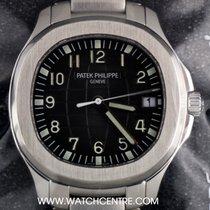 Patek Philippe S/Steel Sealed Black Dial Jumbo Aquanaut...