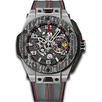 Hublot Big Bang Ferrari Titanium Carbon - NEW 2017 - n.p...
