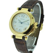 Cartier 1035 Pasha 35mm Automatic in Yellow Gold - Yellow Gold...