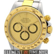 Rolex Daytona Steel & Gold Champagne Dial U Serial  Ref....