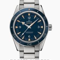 Omega SeaMaster 300M Blue Dial Co-Axial Titanium 1830