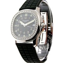 Patek Philippe 5067A blk Ladys Aquanaut 5067A - Steel with...