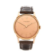 IWC Vintage Cal. 89 very rare pink dial 18k Rose Gold Gents