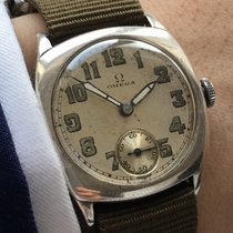 Omega Vintage Omega Watch in solid silver .925 ww2 world war