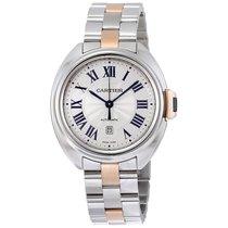 Cartier Cle de Cartier Automatic Silver Dial Ladies Watch