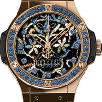 Hublot [NEW] Big Bang Broderie Sugar Skull 343.PS.6599.NR.1201