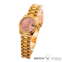 Rolex rose gold 31 mm, president braceled, diamant indexes,