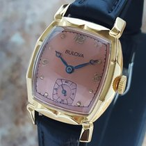 Bulova Swiss Made 1950s Mechanical Mid Size Men's Gold...
