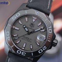 TAG Heuer Men's Aquaracer 300M Black Phantom Titanium...