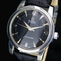 Omega Seamaster Half Rotor Bumper Automatic Steel Mens Watch
