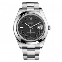 Rolex Datejust II 41mm Stainless Steel 116300 Mens Watch