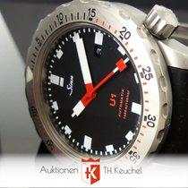 Sinn U1 Automatik 1010 U-Boot Stahl Kautschuk Full Set
